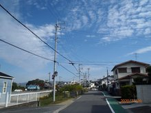 古屋(八幡前駅) 980万円 現地からの眺望2021年撮影