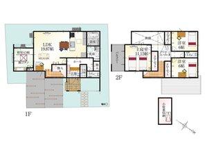 (15号地)、価格3480万円、4LDK、土地面積151.83㎡、建物面積116.76㎡
