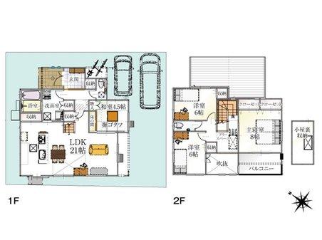 (14号地)、価格3333万円、4LDK、土地面積151.78㎡、建物面積116.76㎡