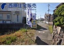 魚住町金ケ崎(魚住駅) 2000万円 現況の道路ではお車の出し入れは不可能かと思われます。現地(2020年5月12日)撮影