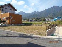南小松(近江舞子駅) 150万円 現地町内の児童公園から「平良山系を望む」