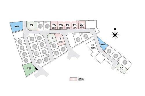 【橋本不動産】 彦根市 東沼波ニュータウン 【一戸建て】 最新の販売状況はお問い合わせください。 建売以外の区画は、自由設計による注文住宅も承っております。(2020年9月25日更新)