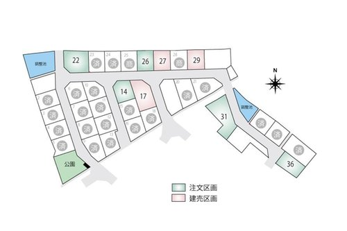 【橋本不動産】彦根市 東沼波ニュータウン ◆販売3戸◆ 【一戸建て】 最新の販売状況はお問い合わせください。 建売以外の区画は、自由設計による注文住宅も承っております。