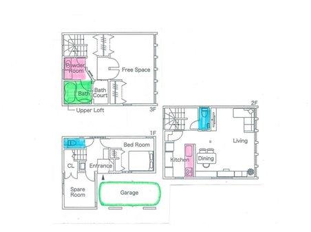池之宮2(星ケ丘駅) 400万円 3階建て推奨プラン:東南角地