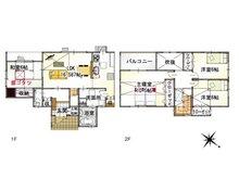 (2-3号地)、価格3798万6000円、4LDK、土地面積160.94㎡、建物面積111.29㎡