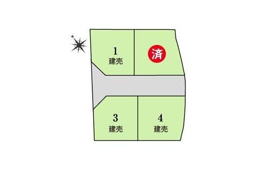 栗東市 小平井3丁目ニュータウン 【一戸建て】 最新の販売状況はお問い合わせくださいませ。 (2019年6月9日更新)