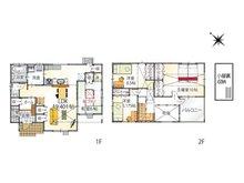 (2-1号地)、価格3999万8000円、4LDK、土地面積160.85㎡、建物面積115.93㎡