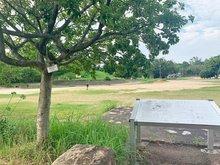 岸和田市額町 全10区画 久米田公園まで900m 久米田貝吹山古墳や久米田寺と隣接していて、一帯は緑豊かな環境が広がります。子どもたちがのびのびと体を動かしています。