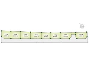 全8区画の新しい街並みが誕生致します! 南海本線「忠岡」駅徒歩3分の好立地! 周りは施設をぎゅっと集めたコンパクトシティとなっております♪