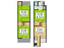 島頭4(大和田駅) 350万円 350万円、3DK、土地面積28.58㎡、建物面積35.05㎡南側道路に面した3DKの中古テラスハウスです♪