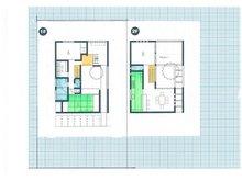 建物プラン例、土地価格200万円、土地面積210㎡、建物価格1830万円、建物面積110㎡間取り:推奨プラン