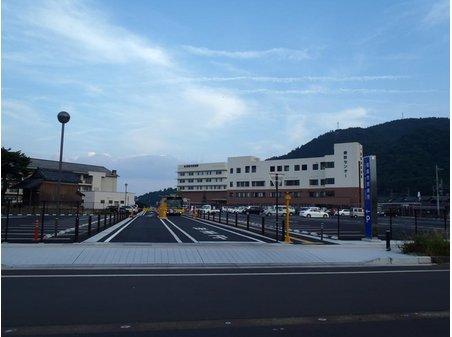 近江高島駅前の総合病院