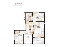 ワウハウス 今在家Ⅳ モデルハウス 【一戸建て】 ■11号地モデルハウス 2階間取り