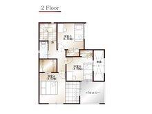 ワウハウス 今在家Ⅳ モデルハウス 【一戸建て】 ■12号地モデルハウス 2階間取り