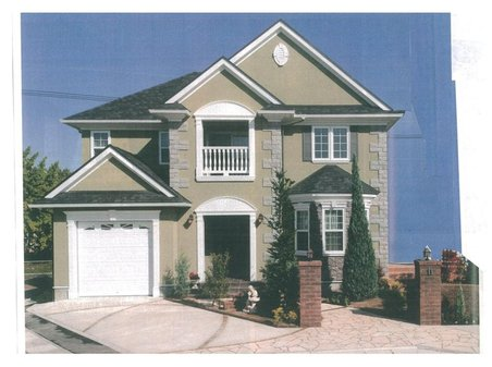 建物プラン例、土地価格1480万円、土地面積286.9㎡、建物価格2000万円、建物面積120㎡外観(D号地)推奨プラン