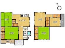 太秦中町(寝屋川公園駅) 1280万円 1280万円、5LDK、土地面積102.47㎡、建物面積94.99㎡
