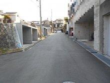 多井畑東町(妙法寺駅) 2180万円 幅員約6メートル公道