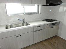 名谷8団地41号棟404 システムキッチン新調(食器洗い乾燥機付き)