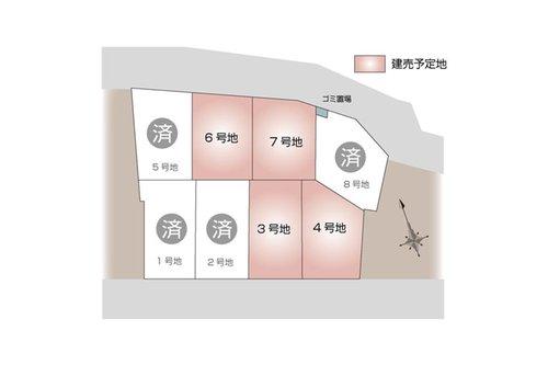 枚方市 津田西町分譲地 【一戸建て】 最新の販売状況はお問い合わせくださいませ。(2019年7月9日更新)