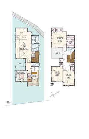 (11号地)、価格3998万円、4LDK、土地面積145.83㎡、建物面積114.69㎡
