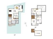 (7号地)、価格3980万円、4LDK、土地面積131.46㎡、建物面積104.61㎡