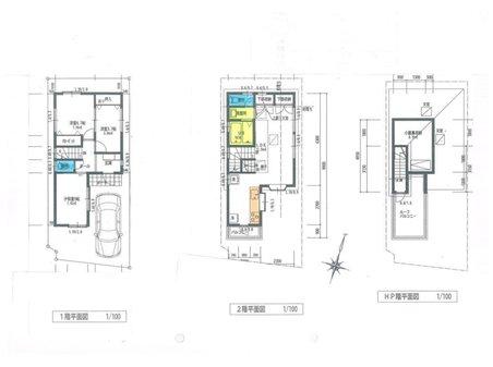 建物プラン例(5号地)69.34㎡