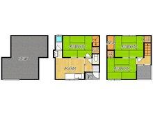 横小路町1(瓢箪山駅) 580万円 580万円、3K、土地面積41.87㎡、建物面積73.03㎡