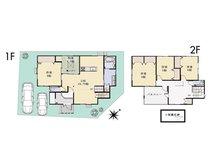 (Ⅰ期 25号地)、価格3598万円、5LDK、土地面積150.33㎡、建物面積136.64㎡