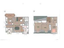 建物プラン例(1号地)建物価格2000万円、建物面積120㎡