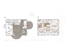 鴨川平3(近江高島駅) 100万円 建物プラン例(1号地)建物価格2000万円、建物面積120㎡