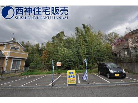 桜が丘西町1(栄駅) 3000万円 神戸電鉄粟生線「栄」駅まで徒歩約7分の立地です。駅まで徒歩圏内の便利な立地です。現地(2021年4月2日)撮影