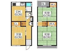 550万円、3DK、土地面積60.3㎡、建物面積56.16㎡各居室6帖以上のゆったりした3DKの邸宅です♪