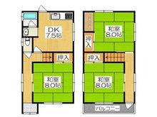 沖町(大和田駅) 850万円 850万円、3LDK、土地面積57.17㎡、建物面積69.62㎡全居室8帖で広々ご使用いただけます♪