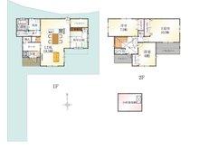(10号地)、価格3861万5000円、4LDK、土地面積172.57㎡、建物面積118.83㎡