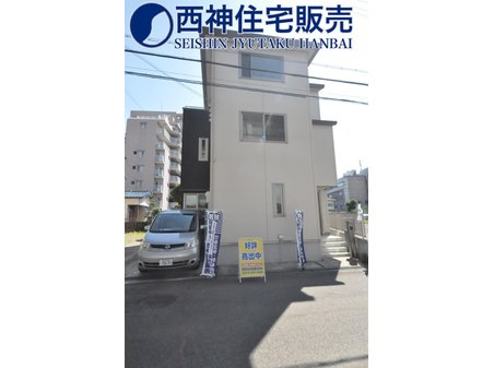 南野添3(播磨町駅) 2480万円 交通は山陽電鉄「播磨町」駅まで徒歩約5分です。学校は「播磨小学校」「播磨中学校」のエリアです。現地(2021年7月11日)撮影