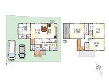 (9号地)、価格2695万1000円、4LDK、土地面積136.9㎡、建物面積96.89㎡