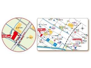 草津市 木川町分譲地 【一戸建て】 現地案内図