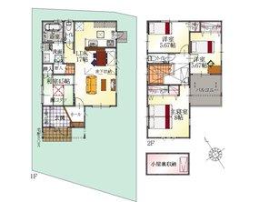 (20号地)、価格2937万9000円、4LDK、土地面積135.5㎡、建物面積101.84㎡