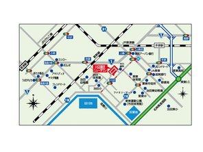 栗東市・川辺瀬流ニュータウン 【一戸建て】 現地案内図
