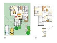 (2-18号地)、価格3298万円、4LDK、土地面積188.72㎡、建物面積106㎡