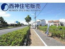 東野添3(播磨町駅) 5130万円 学校は「蓮池小学校」「播磨中学校」のエリアです。現地(2021年8月8日)撮影