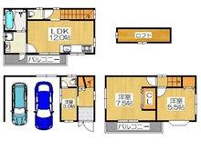 五月田町(古川橋駅) 2250万円 2250万円、4LDK、土地面積54.89㎡、建物面積93.3㎡2250万円、4LDK、土地面積54.89m2 建物面積93.3m2水回り2階につき家事導線もラクラクです♪