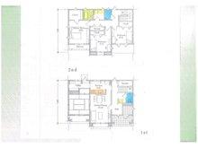 尊延寺5(藤阪駅) 830万円 建物プラン例(1号地)建物価格2000万円、建物面積120㎡