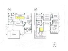 土地価格100万円、土地面積180㎡建物プラン例(N号地)建物価格2000万円、建物面積120㎡