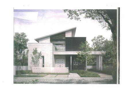 建物プラン例、土地価格100万円、土地面積180㎡、建物価格2000万円、建物面積120㎡推奨プラン