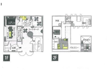 鴨川平3(近江高島駅) 100万円 建物プラン例、土地価格100万円、土地面積247.54㎡、建物価格2000万円、建物面積120㎡間取り:推奨プラン