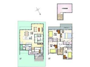 (12号地)、価格3305万9000円、5LDK、土地面積120.43㎡、建物面積121.72㎡