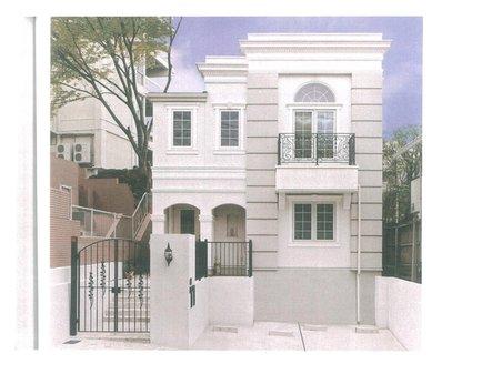 建物プラン例、土地価格100万円、土地面積154.03㎡、建物価格1660万円、建物面積100㎡外観:推奨プラン