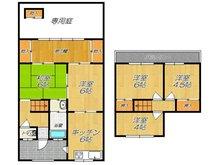 千石東町(門真南駅) 980万円 980万円、5K、土地面積100.85㎡、建物面積64.02㎡