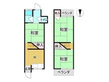 八雲北町3(大日駅) 580万円 580万円、3K、土地面積27.28㎡、建物面積37.5㎡